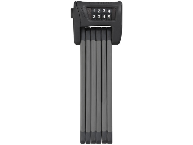 ABUS Bordo Combo 6100/75 Folding Lock black